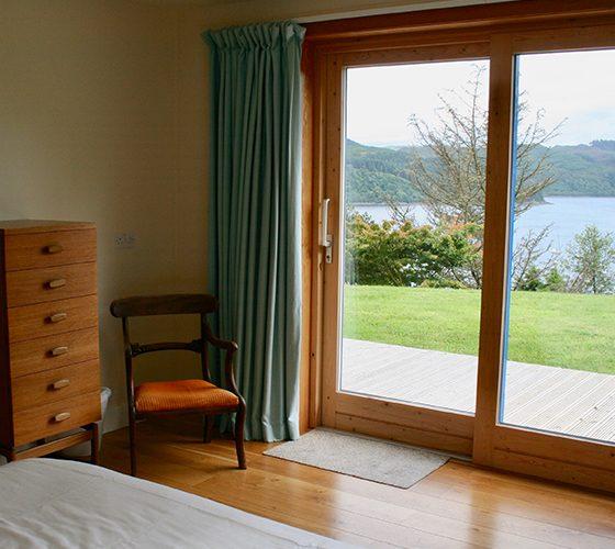 View from first bedroom - Lerigoligan