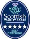 5 Star Self Catering Logo Scottish Tourist Board - Lerigoligan