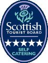 5 Star Self Catering Logo Scottish Tourist Board - Lerigoligan