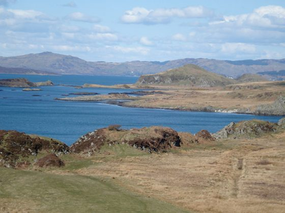 View of Scarba and Mull - Lerigoligan