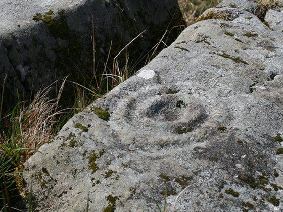 Cup mark carving - Lerigoligan