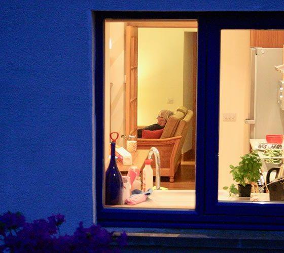 House at night - Lerigoligan
