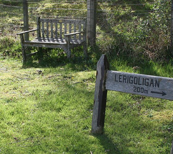 Lerigoligan sign - Lerigoligan