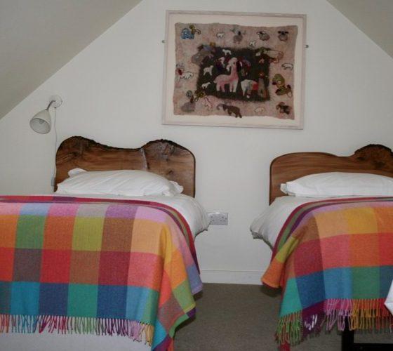 Fourth bedroom at Lerigoligan
