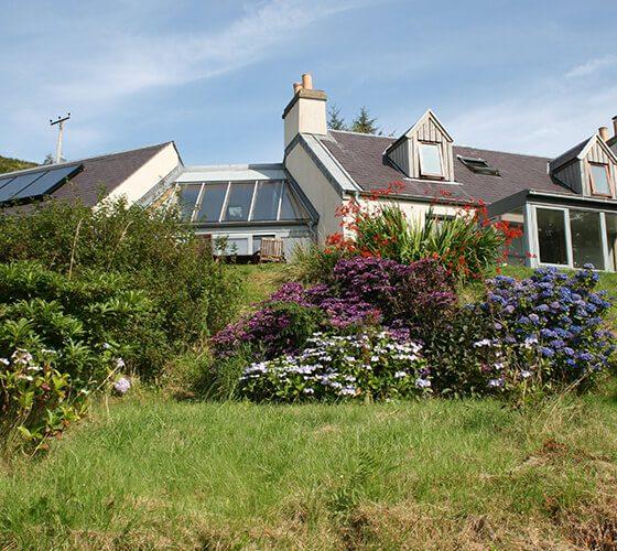 Lerigoligan House Front Garden